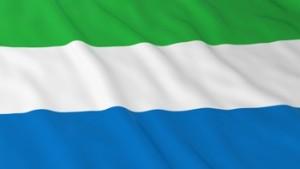 Sierra Leonean Flag HD Background - Flag of Sierra Leone